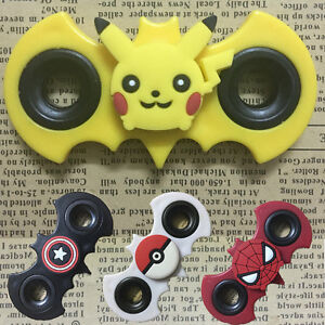 Pokemon Hand Spinner Fidget EDC Relief Stress Focus Cartoon Toys Fingertip Gyro