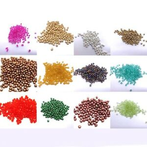 X100-Czech-Glass-Beads-4mm-Fire-Polished-Beads-Jewellery-Making-250-COLOURS