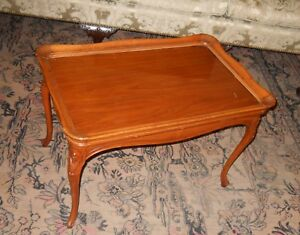 Beautiful Antique Walnut Coffee Table w/Removable Serving ...