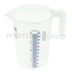 Pressol vaso dosificador con escala de 5 litros con tapa de PE