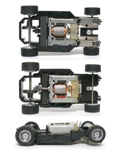 Nice. 1982-1995 TYCO HO HP7 Slot Car Chassis Unused OEM #6900 UnLit /& Tested