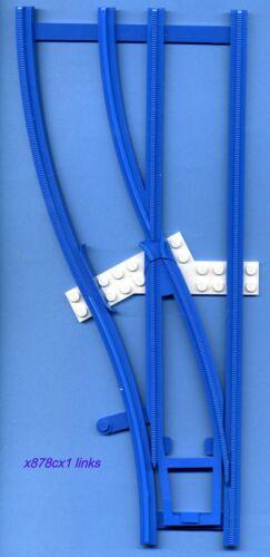 Baukästen & Konstruktion links--blau--4,5 V--aus Set 154 Lego--x878cx1--Weiche- LEGO Baukästen & Sets