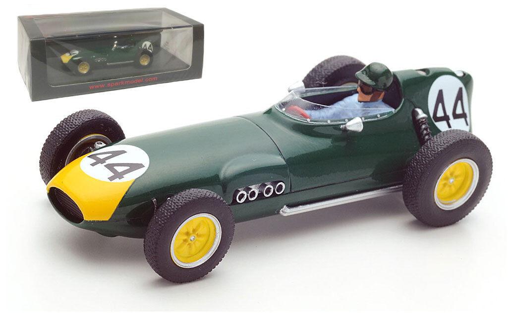 Spark S5341 Lotus 16 Monaco GP 1959 - Bruce Halford 1 43 Scale