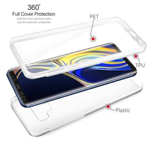 NEU-2019-Luxus-Slim-TPU-Silikon-360-Full-Cover-Case-fuer-Samsung-Galaxy-s9