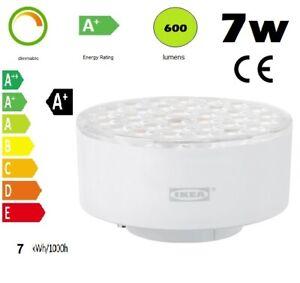 IKEA LEDARE 103.650.99 LED Dimmable Light Bulb GX53 600