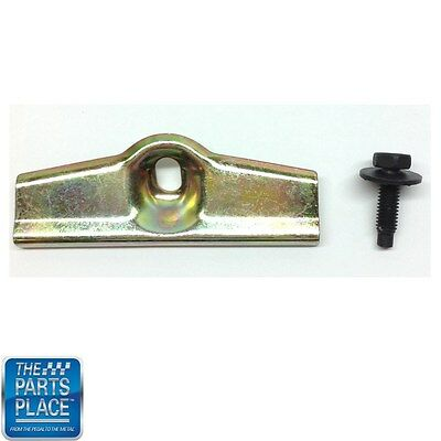 67-81 Various GM Models most common Battery Tray Hold Down Clamp Retainer /& Bolt