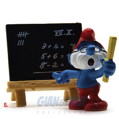 Puffo Puffi Smurf Smurfs Schtroumpf 4.0224 40224 Papa Teacher Maestro 5a