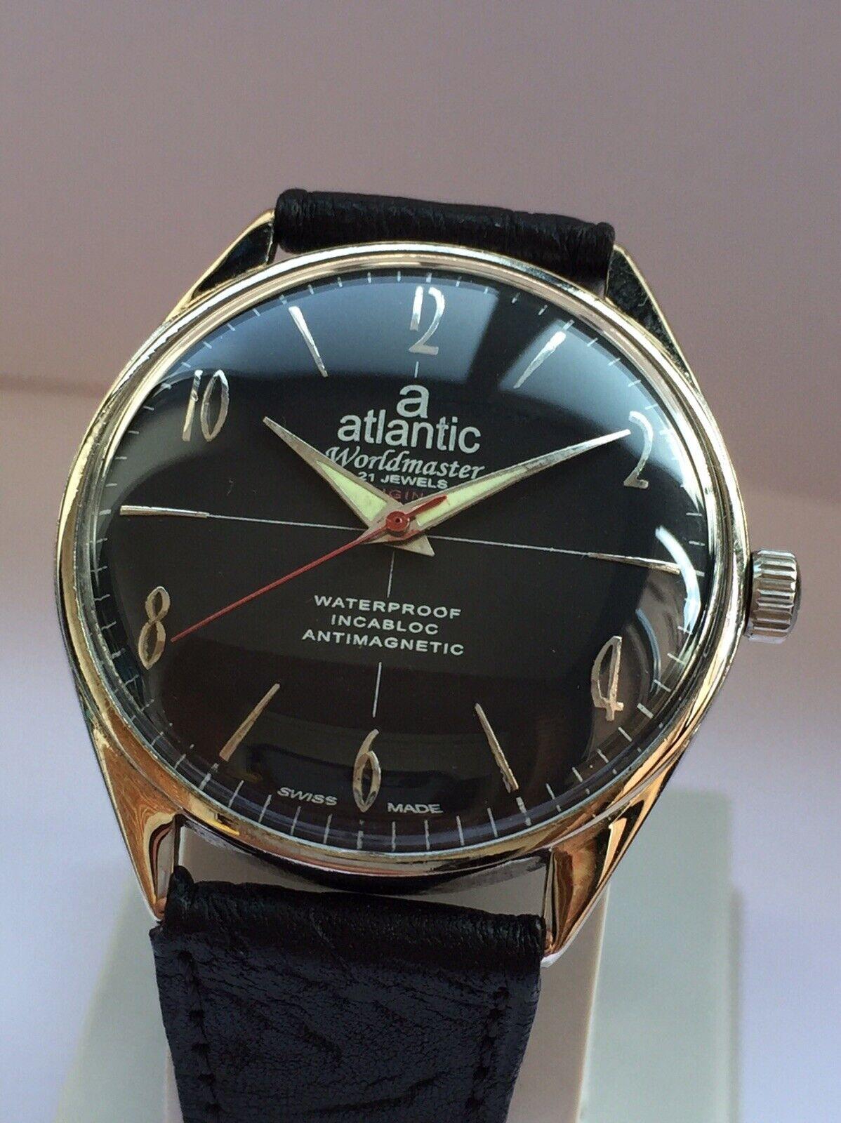 Reloj Vintage ATLANTIC WORLDMASTER 21 Rubies