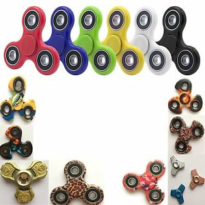 NEW FIDGET FINGER SPINNER HAND FOCUS SPIN STEEL EDC BEARING STRESS TOY