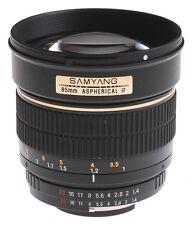 Samyang 85mm f1.4 AS IF MC für Samsung NX - Ausverkauf  | EU Händler |