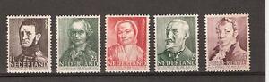 NVPH-Netherlands-Nederland-nr-392-396-MNH-PF-1941-zomerzegels-Pays-Bas