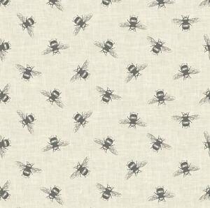 Fryetts Clipper Linen Natural Cotton Print Fabric