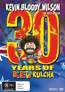 Kevin-Bloody-Wilson-30-Years-Of-Kev-Kulcha-DVD-2015-LIKE-NEW-REGION-4