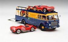Exoto 1956 Bartoletti Transporter A6 GCS 642 Race Set 1/43 Scale NEW