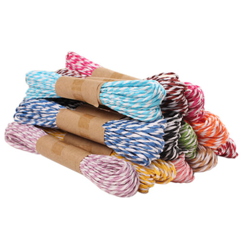 10M 2mm Divine Bakers Paper Twine Party Wedding DIY Crafts Ribbon Packing Rop XI