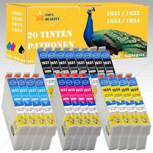 20x-non-original-kompatible-Tintenpatronen-fuer-Epson-Workforce-WF-2630-WF