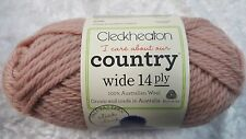 CLECKHEATON COUNTRY WIDE 14 PLY WOOL 50G BALL AIRFORCE #0024