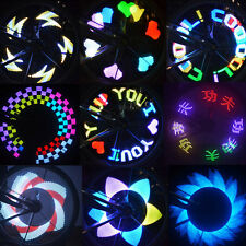 Colorful Bicycle Wheel Signal Lights Rainbow Suit 32 LED for Bike Cycling US