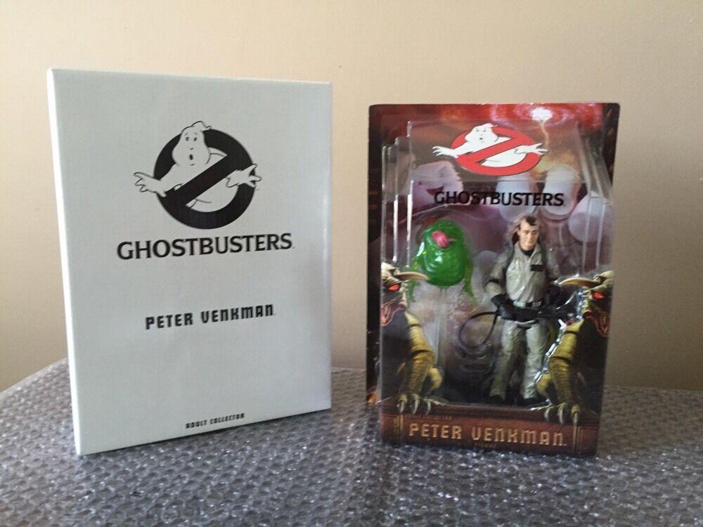 Ghostbusters Matty Collector Mattel  6   Peter Venkman W  Slimer Classic Figure