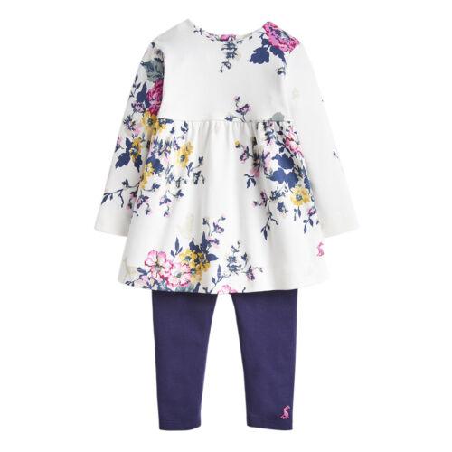 Anniversary Floral Joules Junior Girls Christina Dress And Legging Set