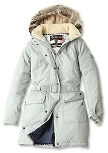 df465b2f1 Details about BARBOUR Arctic Expedition Fibre Down Padded KIRBY Puffa COAT  Jacket Size UK 10