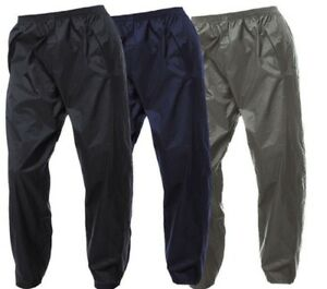 REGATTA-MENS-PACKAWAY-II-WATERPROOF-BREATHABLE-TROUSERS-ISOLITE-MW348