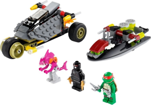 Lego Tortugas Ninja Set 79102 Sigilo Shell En Persecución Persecución Persecución 2013 Completa  cómodo