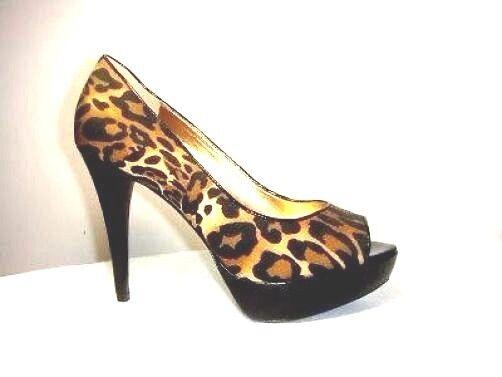 ultimi stili New Authentic Guess Open Toe Pumps By By By Marciano Abellona Natural Multi 8  vendita di fama mondiale online