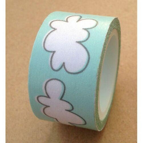 Wider Washi Tape 20mm x 5m Rolls Decorative Sticky Paper Masking Tape Adhesive