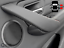 thumbnail 4 - Door Handle Cover BMW 318, 320, 330 F30 F3X Black Leather Red Stitch RIGHT