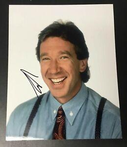 Tim Allen Home Improvement Signed 8x10 Photo Authentic Autograph Auto Ebay