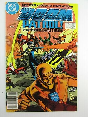 Dc Comics The Doom Patrol 1 First Issue Cover To Cover Action