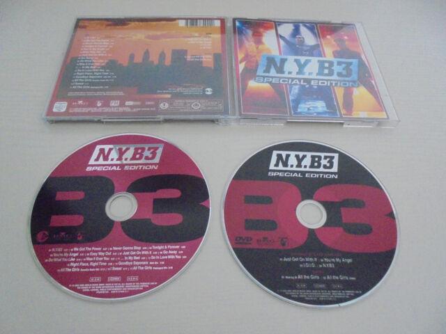 CD + DVD B3 - N.Y. B 3 Special Edition 2003 I.O.I.O., You´re my Angel ...