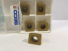 SECO ACET 150612TR-ME10 10 PCS F40M CARBIDE  INSERTS