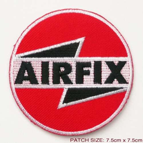 AIRFIX - Model Toys Manufacturer LOGO Embroidered Iron-On Patch...