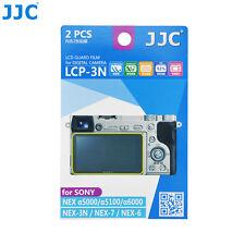 JJC Camera LCD Screen Protector Film for Sony a6500 a5000 a5100 α6000 NEX-3N 6 7