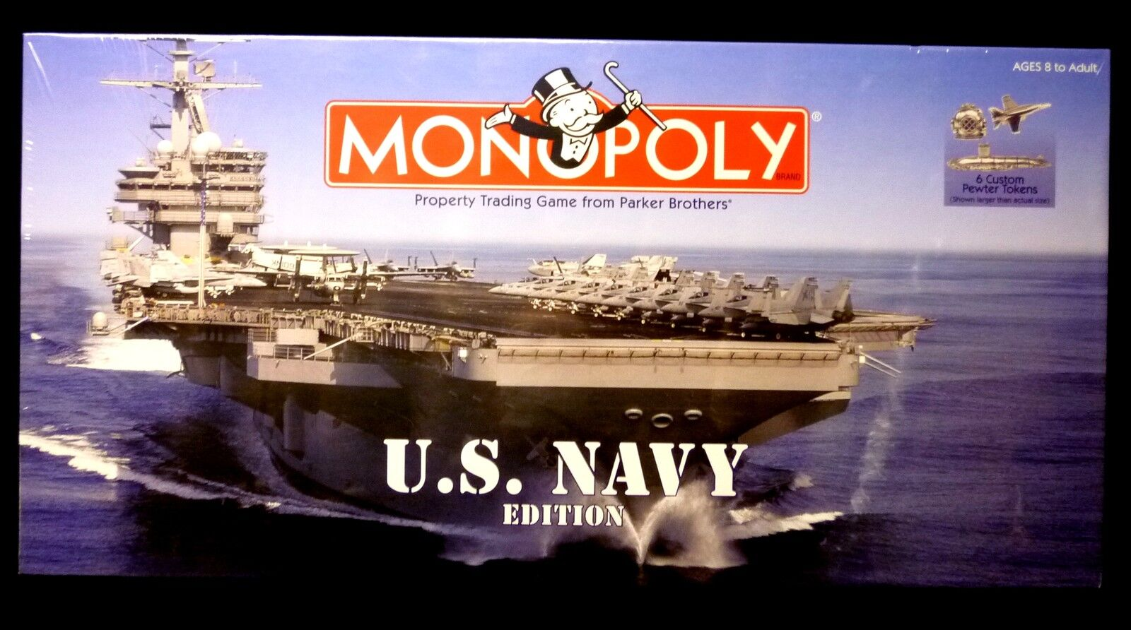 Monopoly US Navy Game released 1998 New factory sealed