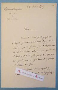 L-A-S-1907-Albert-KAMMERER-Graphologie-Jules-Crepieux-Jamin-Consul-de-France