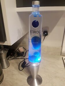 Image Is Loading Custom Made Ciroc Vodka Bottle Lava Lamp