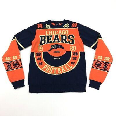 buy online cbb99 3471e NWT NFL Team Apparel Chicago Bears Mens Classic
