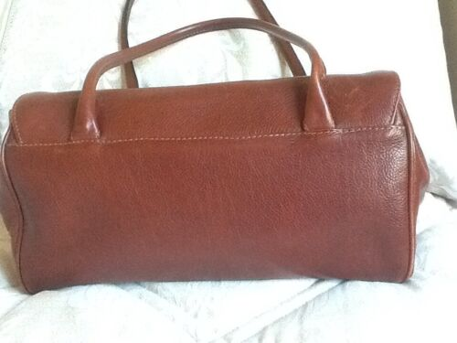 Italian chestnut Exc Large Cond Leather Pristine Handbag Tan mp EUpq6wxA