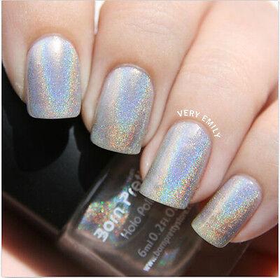 Born Pretty 6ml Holographic Holo Glitter Nail Polish Varnish Hologram Effect 1#