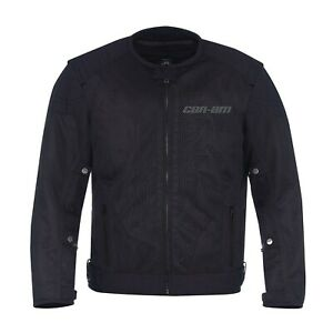 BRP-Can-Am-Roadster-Mesh-Zipped-Liner-Motorcycle-Vented-Riding-Jacket-OEM-NEW