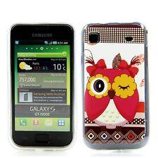 Samsung GALAXY s1 i9000 9001 SILICONE CUSTODIA GUSCIO PROTETTIVO ASTUCCIO COVER Blink GUFO OWL