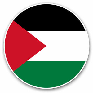 2-x-Vinyl-Stickers-7-5cm-Palestine-East-Jerusalem-Travel-Cool-Gift-9162