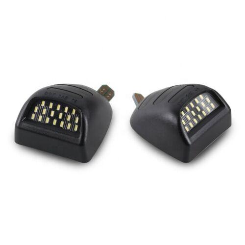 Pair Rear License Plate LED Lights for Chevrolet Silverado GMC Sierra 1500 2500