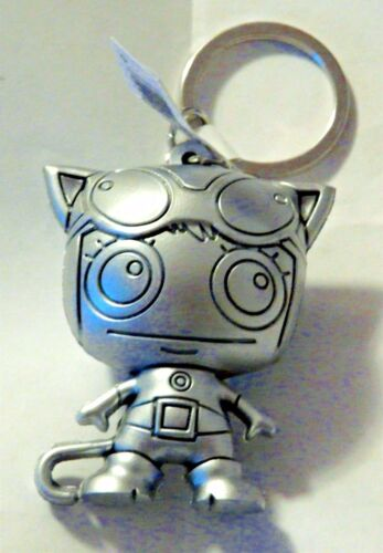 DC Universe Figural Keyring Keychain Series 2 SILVER CATWOMAN Mint OOP