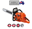 Echo Chainsaw CS590 Pro Saw 59.8cc 5 Year Warranty 20'' Bar Made In Japan