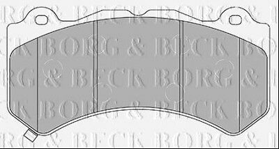 BBP2436 BORG /& BECK FRONT BRAKE PADS fits Nissan GT-R 3.8 fits R35 03//09