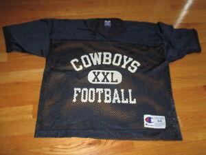 Vintage Champion DALLAS COWBOYS XXL Football (Size 44) Mesh Practice ... 184467a8e